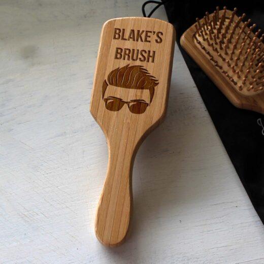 Personalized Hair Brush | Blake
