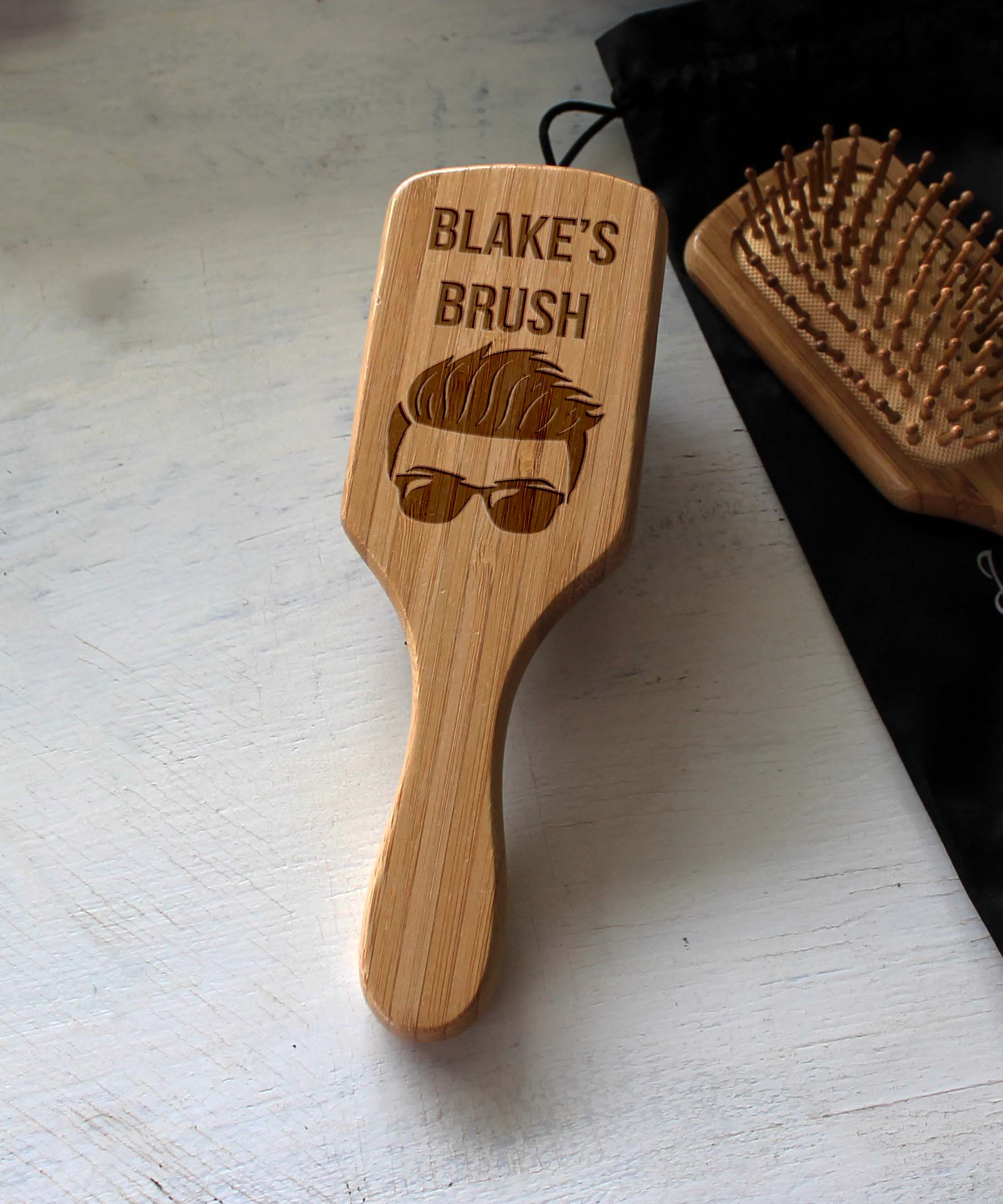 Personalized Hair Brush | Blake