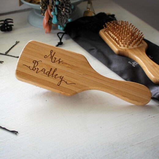 Personalized Hair Brush | Mrs Bradley