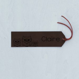 Personalized Bookmark | Claire