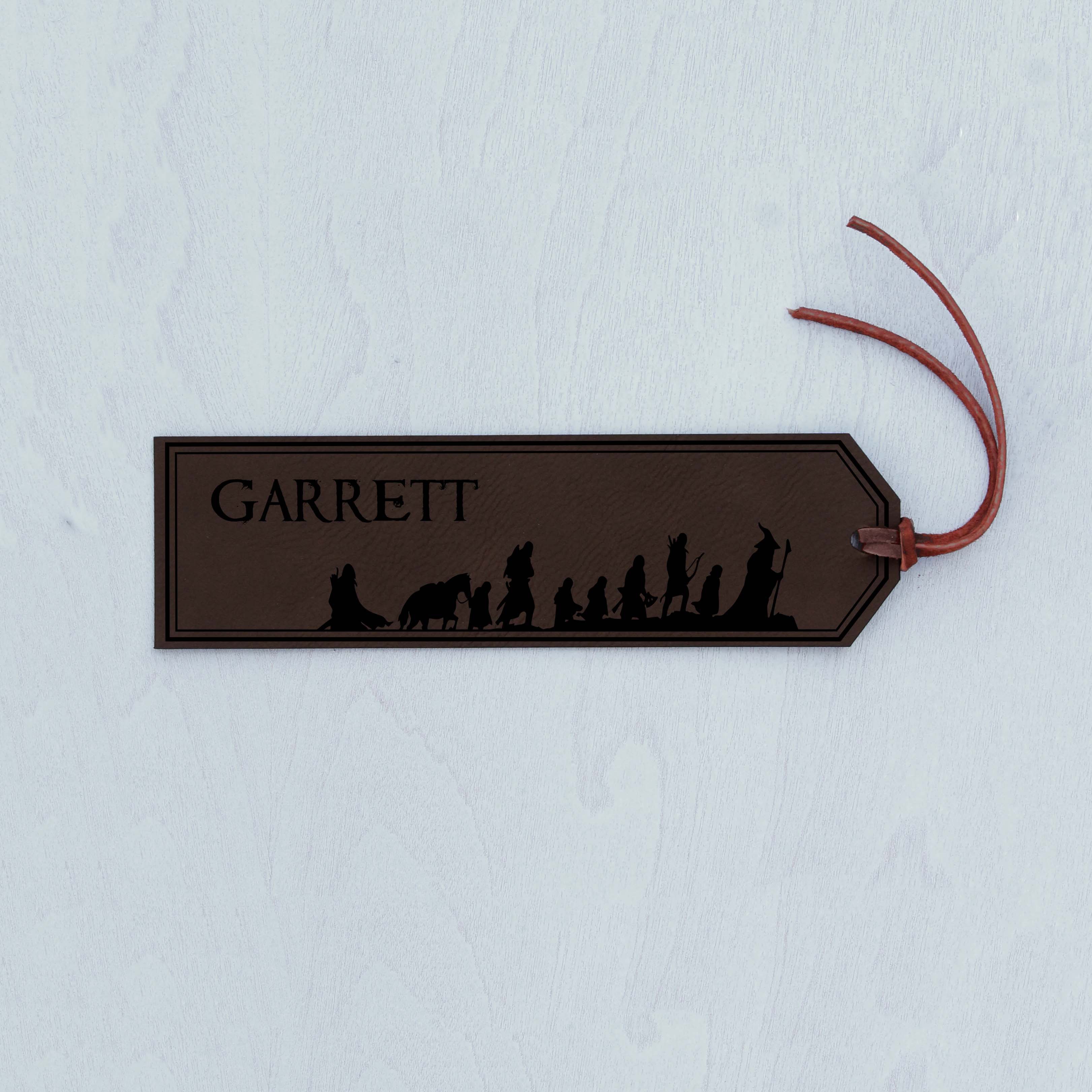 Personalized Bookmark | LORT Garrett