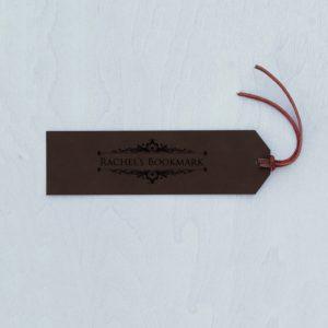 Personalized Bookmark   Rachel