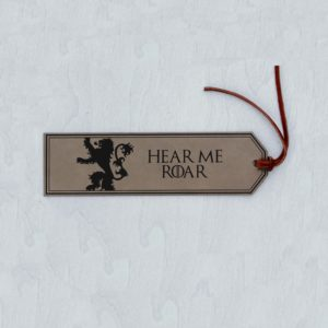Personalized Bookmark | GOT Lannister