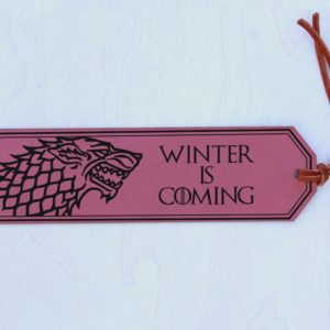 Personalized Bookmark | GOT Stark