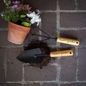 Personalized Garden Tools   Carol