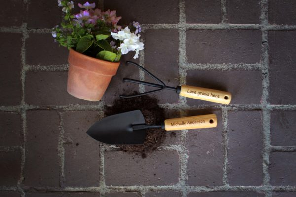 Personalized Garden Tools   Michelle