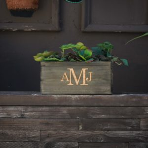 10 X 5 Personalized Planter Box | AMJ