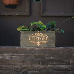 10 X 5 Personalized Planter Box | Clifford