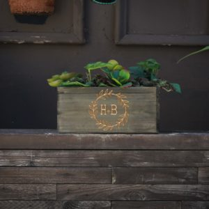 10 X 5 Personalized Planter Box | HB Wreath