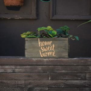 10 X 5 Personalized Planter Box | Home Sweet Home