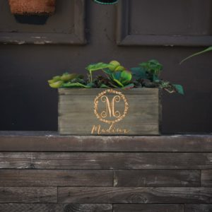 10 X 5 Personalized Planter Box | Madison