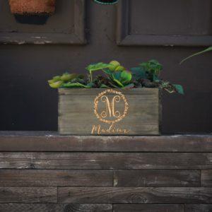 10 X 5 Personalized Planter Box | Madison