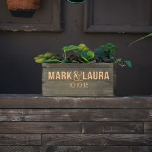 10 X 5 Personalized Planter Box | Mark Laura