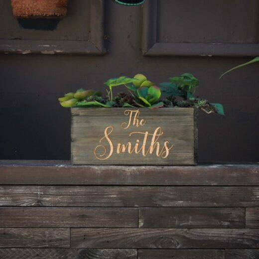 10 X 5 Personalized Planter Box | Smiths