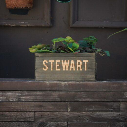 10 X 5 Personalized Planter Box | Stewart