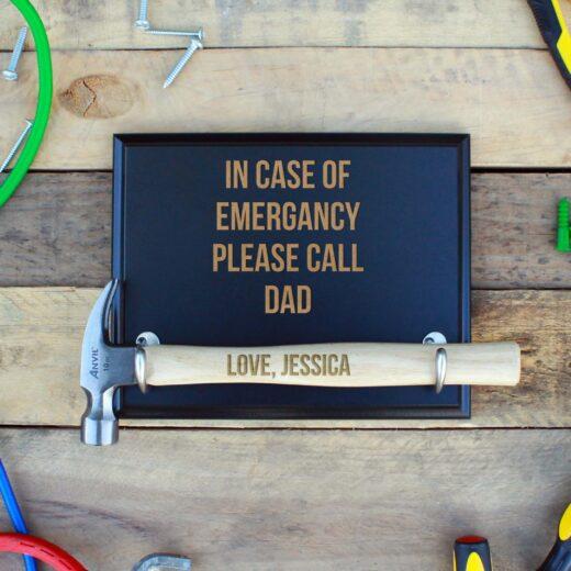 Custom Hammer Plaques   Emergency