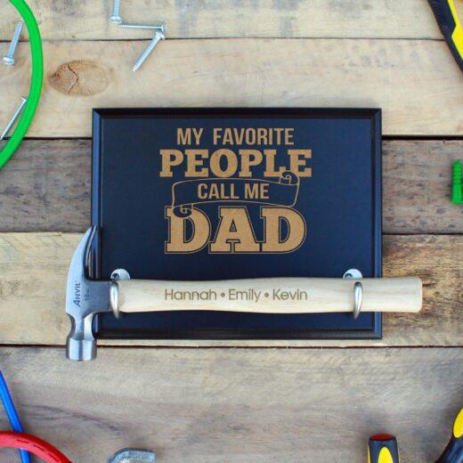Custom Hammer Plaques   Favorite Dad