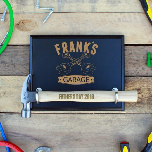 Custom Hammer Plaques   Frank