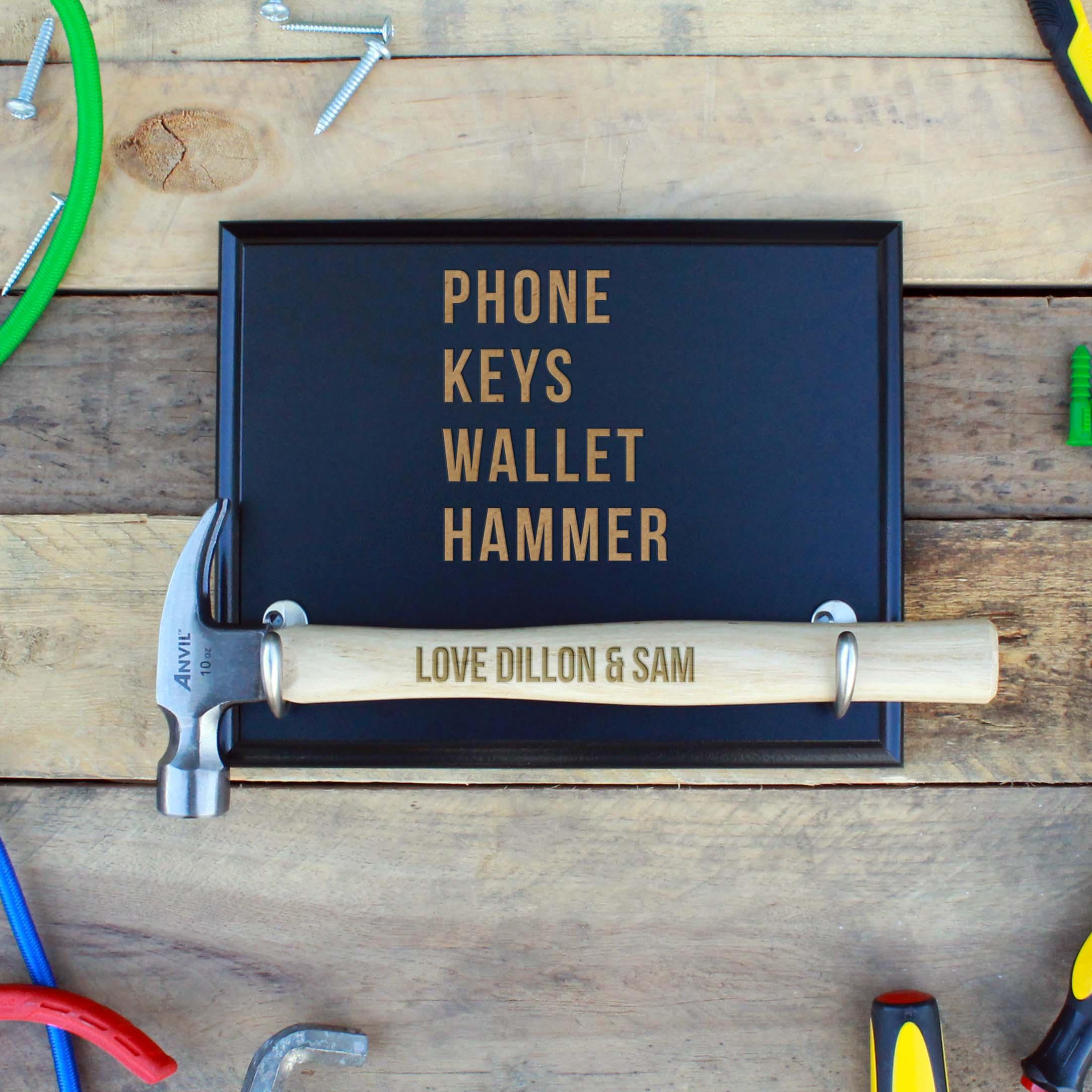 Custom Hammer Plaques | Phone