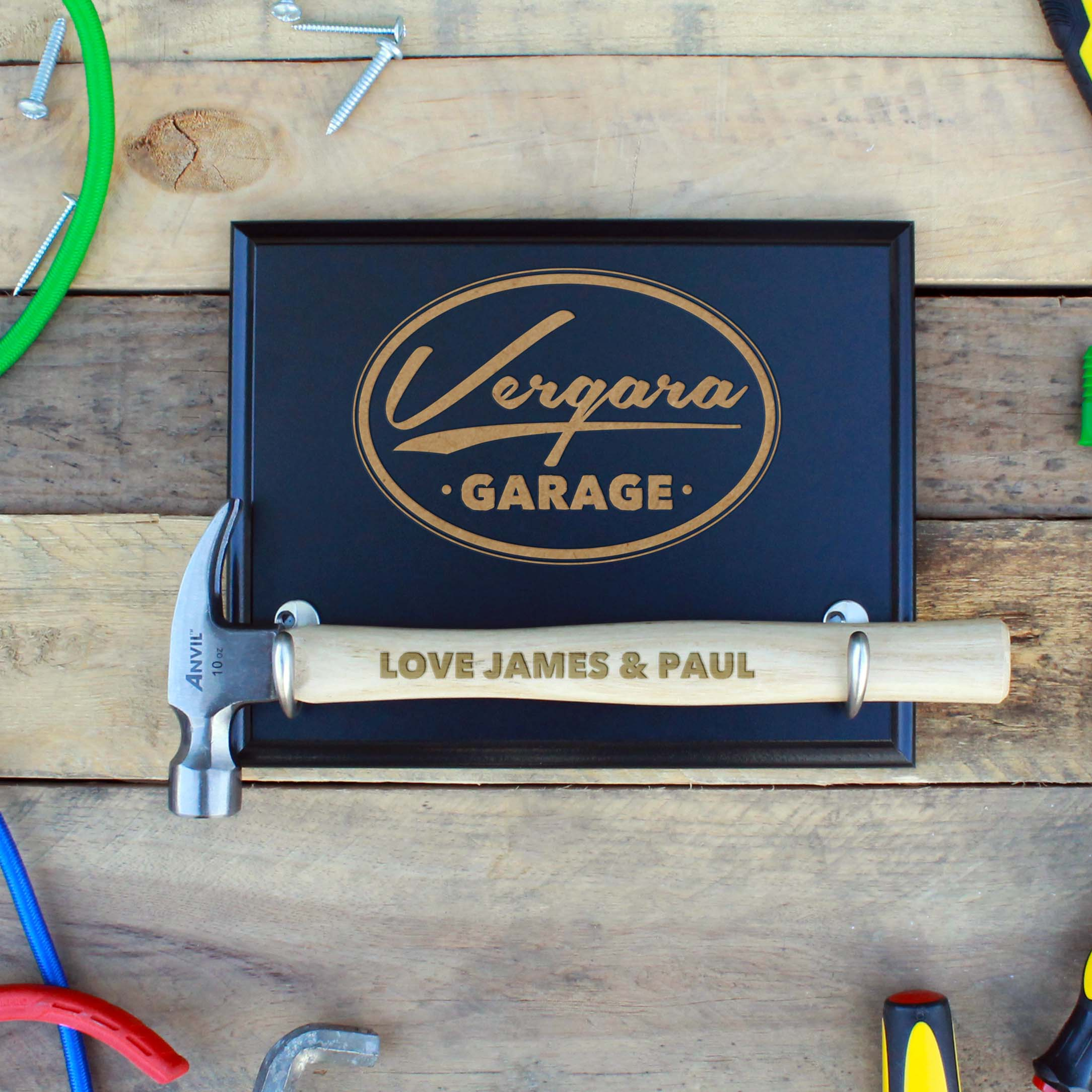 Custom Hammer Plaques | Vergara