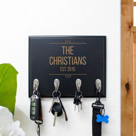 Personalized Key Rack | Christians