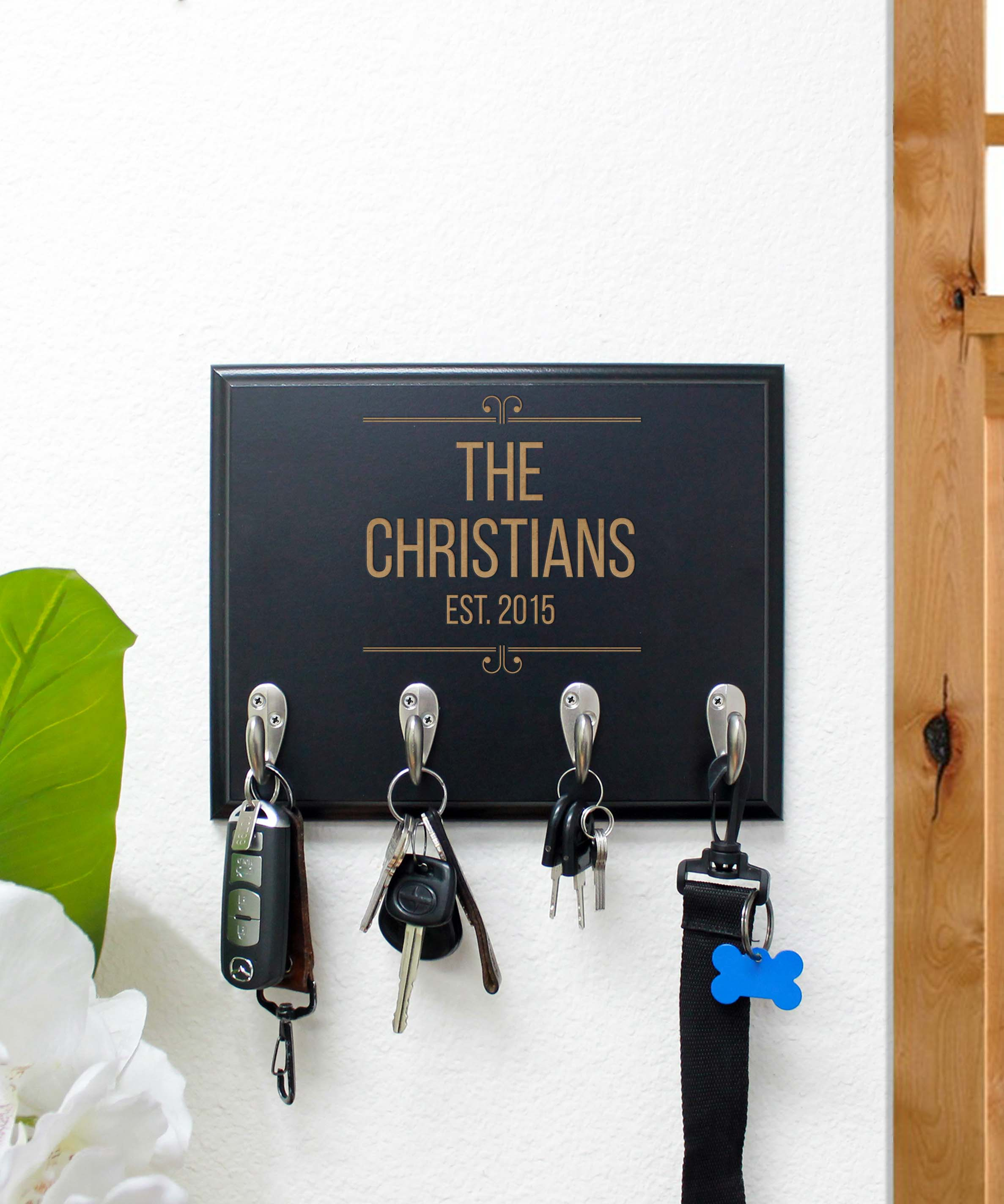 Personalized Key Rack | Christians