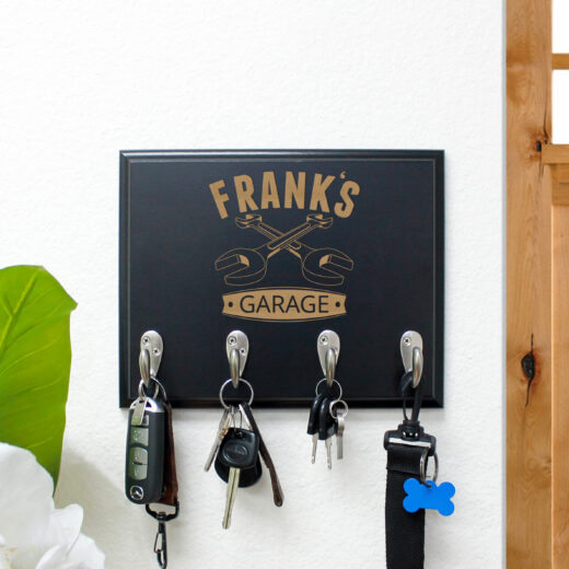 Personalized Key Rack | Frank