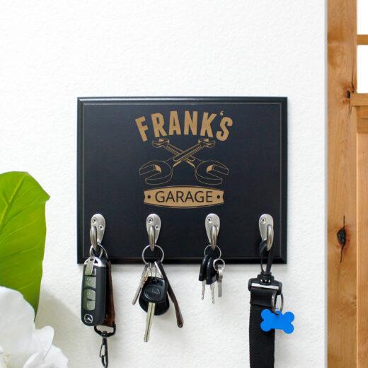Personalized Key Rack | Frank
