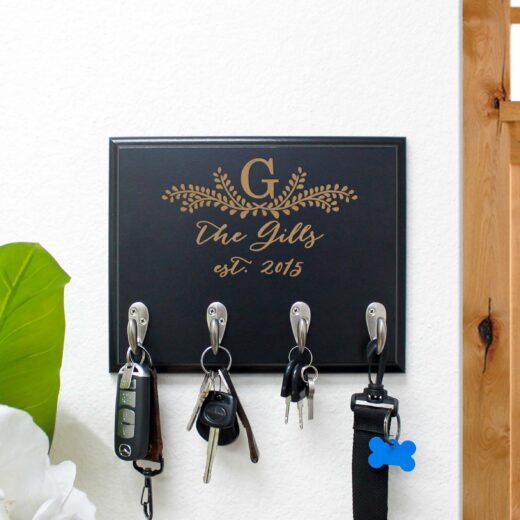 Personalized Key Rack | Gills