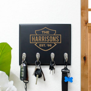 Personalized Key Rack | Harrisons