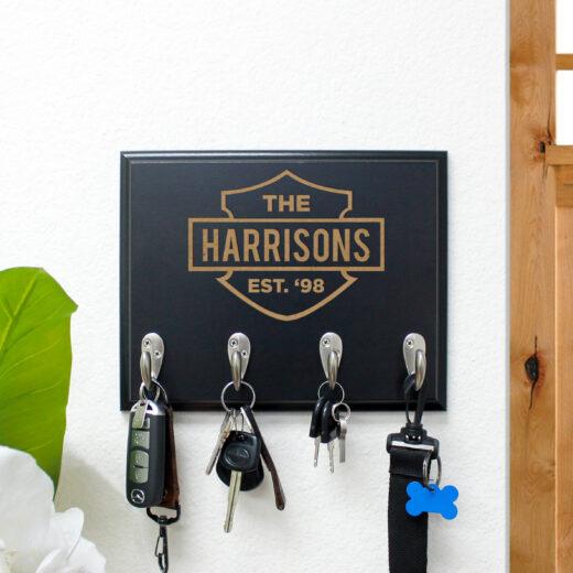 Personalized Key Rack | Harrisons