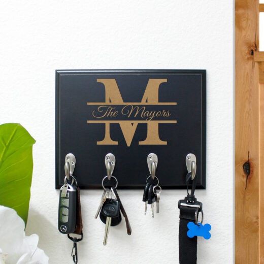 Personalized Key Rack | Mayors