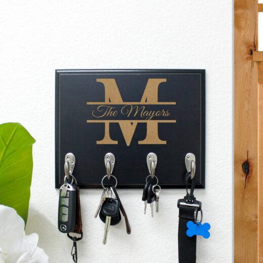 Personalized Key Rack | Mayors