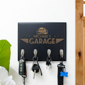 Personalized Key Rack | Michael