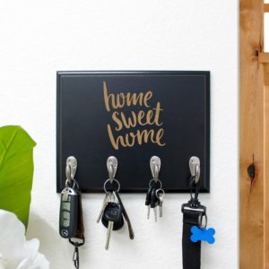 Personalized Key Rack | Home Sweet Home