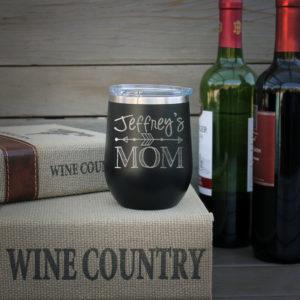 Personalized Wine Tumbler | Jeffrey