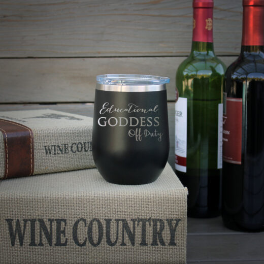 Personalized Wine Tumbler | Goddess