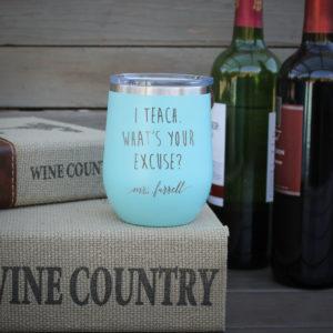 Personalized Wine Tumbler   Farrell