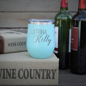 Personalized Wine Tumbler | Katrina