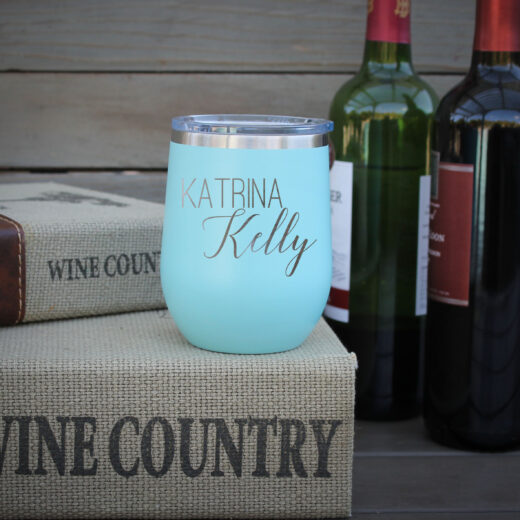 Personalized Wine Tumbler | Katrina