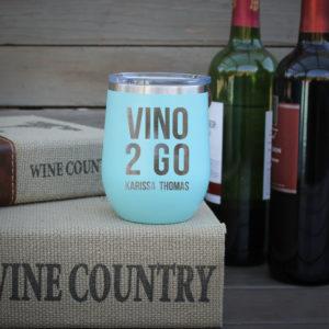 Personalized Wine Tumbler | Vino 2 Go