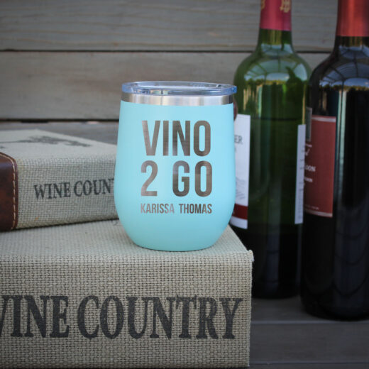 Personalized Wine Tumbler | Vino 2 Go
