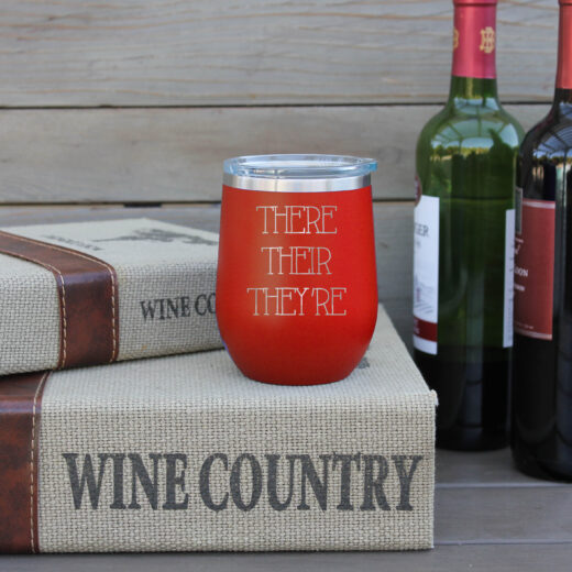 Personalized Wine Tumbler | There