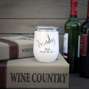 Personalized Wine Tumbler | Sandy