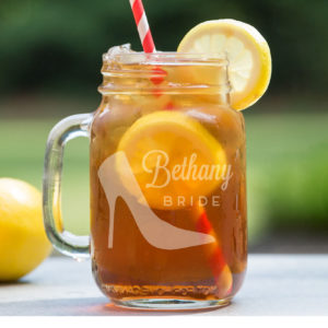 Personalized Mason Jar | Bethany