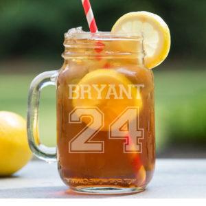 Personalized Mason Jar   Bryant