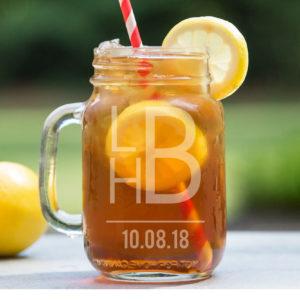 Personalized Mason Jar | LHB