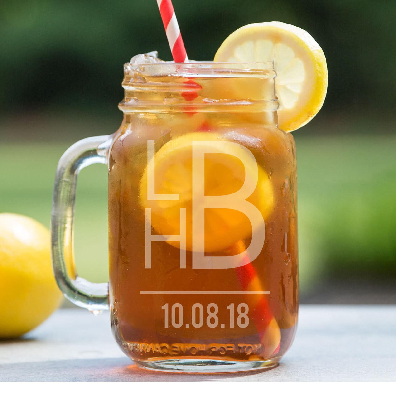 Personalized Mason Jar   LHB