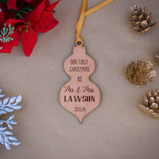 Personalized Wood Christmas Ornaments | Lawson