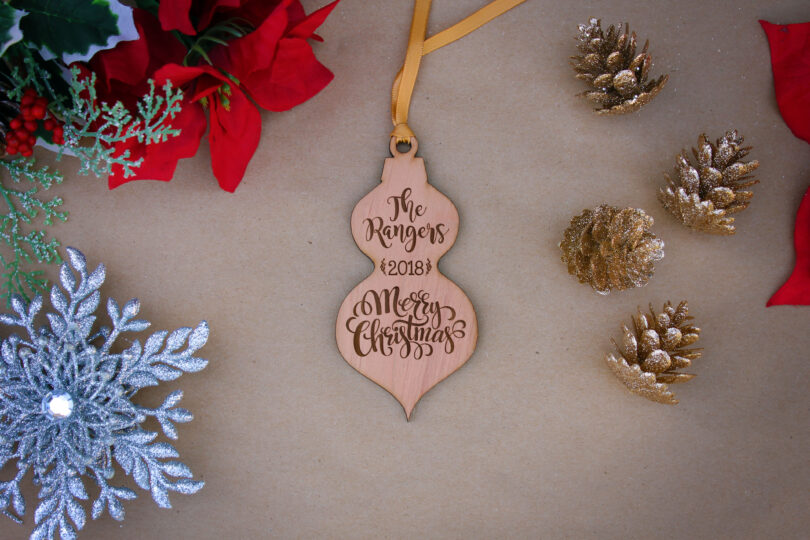 Personalized Wood Christmas Ornaments | Rangers
